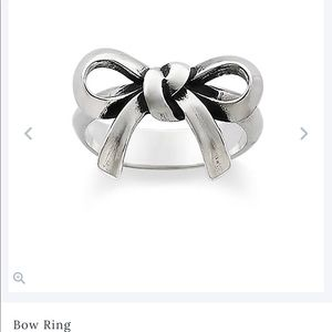 James Avery Bow Tie Ring